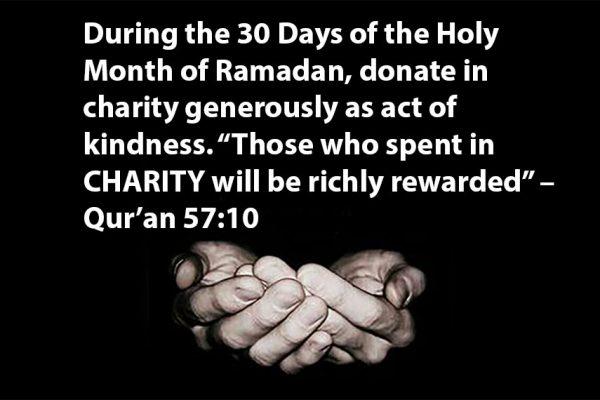 Ramadan 30 Days of Giving